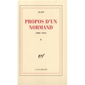 Propos d'un Normand (Tome 5)