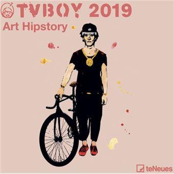 TV Boy Modern Icons Kalender 2019