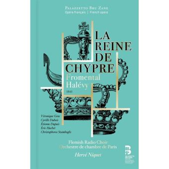 REINE DE CHYPRE/CD+BOOK