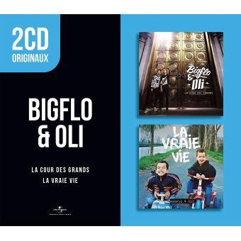 2 CD ORIGINAUX/COUR DES GRANDS/LA VRAIE VIE2CD