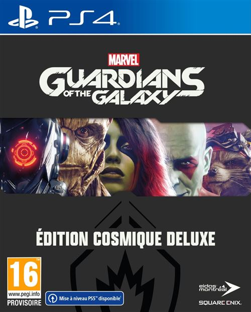 Marvel's Guardians of the Galaxy Edition Cosmique Deluxe PS4
