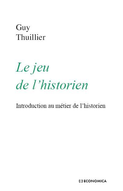 Le jeu de l'historien