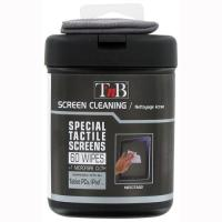 TNB 60 PC TACTILE SCREEN CLEANING WIPES