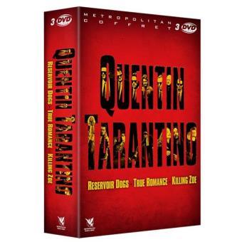 Coffret Quentin Tarantino 3 films Blu-ray