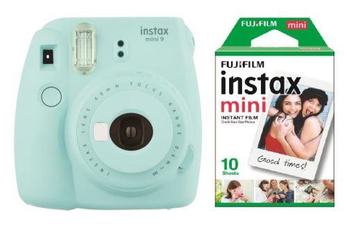 Fujifilm Instax Mini 9 Bleu Givré + Instax Mini Pack 10 films