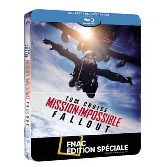Mission : Impossible  Les FilmsMission : Impossible Fallout Steelbook Edition Spéciale Fnac Blu-ray