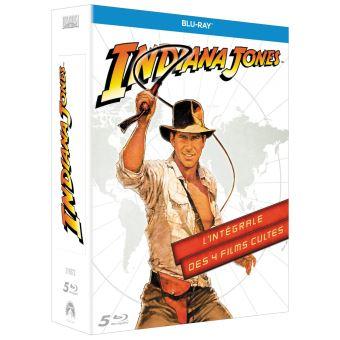 Indiana JonesCoffret Indiana Jones L'intégrale Blu-ray