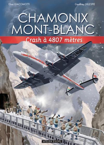 Chamonix Mont-Blanc, crash à 4807 metres