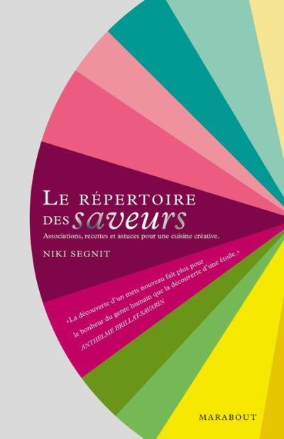 Le répertoire des saveurs - 9782501082679 - 16,99 €