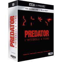 Coffret Predator 4 Films Edition Limitée Blu-ray 4K Ultra HD