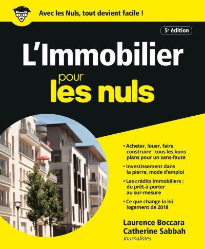 L'Immobilier pour les Nuls, 5e éd. - 9782412047194 - 15,99 €