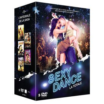 Sexy danceCoffret Sexy Dance L'intégrale DVD