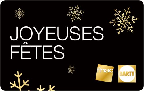 Carte Cadeau Fnac Joyeux Noel.E Carte Cadeau Fnac Darty Joyeuses Fetes