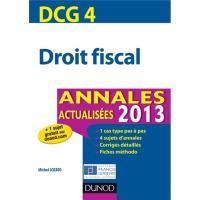Droit fiscal, DCG 4