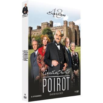 Hercule PoirotCoffret intégral de la Saison 13 DVD