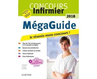 Méga Guide 2018 Concours infirmier