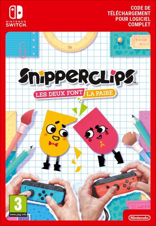 Code de téléchargement Snipperclips Les deux font la paire Nintendo Switch