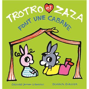 L'âne TrotroTrotro et Zaza font une cabane