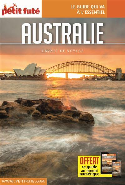 Australie 2017 carnet petit fute + offre num