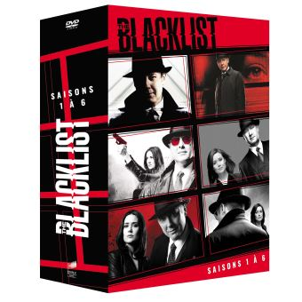 The BlacklistCoffret The Blacklist Saisons 1 à 6 DVD
