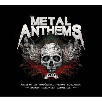 METAL ANTHEMS/2CD