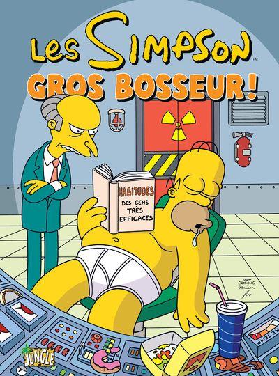 Les Simpson - tome 8 Gros bosseur !