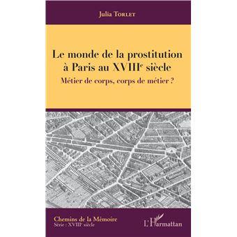Le monde de la prostitution à Paris au XVIIIème siècle