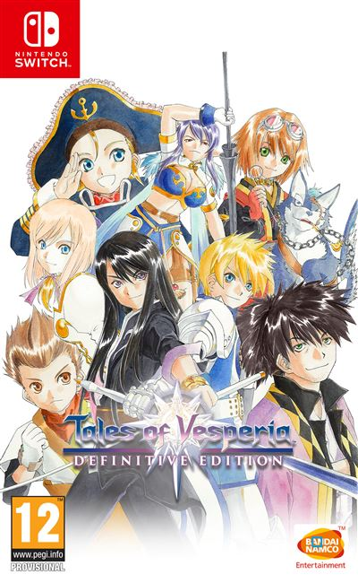 Tales of Vesperia Edition Définitive Nintendo Switch