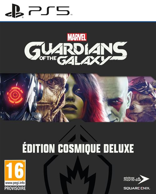 Marvel's Guardians of the Galaxy Edition Cosmique Deluxe PS5