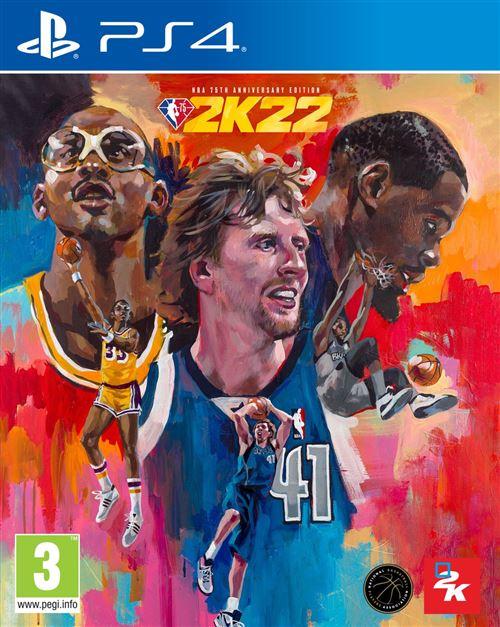 NBA 2K22 Edition 75ème Anniversaire PS4