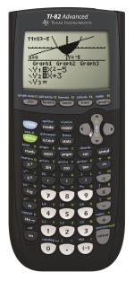 Texas Instruments TI-82 Advanced Mode Examen