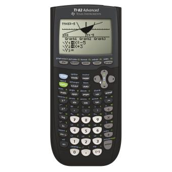 Texas Instruments TI,82 Advanced Mode Examen