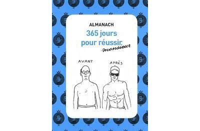 Almanach, 365 jours pour réussir Monsieur