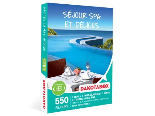 Coffret cadeau Dakotabox Séjour spa et délices