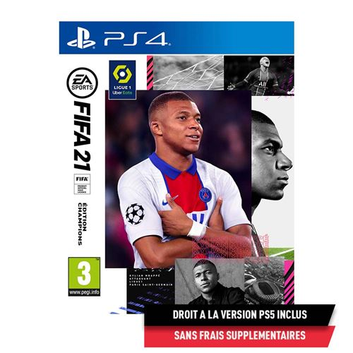 FIFA 21 Edition Champions PS4 - Version PS5 incluse