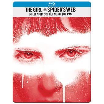 GIRL IN THE SPIDER S WEB-BIL-BLURAY STEELBOOK