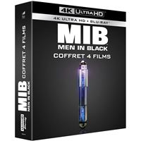 Coffret Men in Black Tétralogie Blu-ray 4K Ultra HD