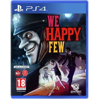 WE HAPPY FEW FR/NL PS4