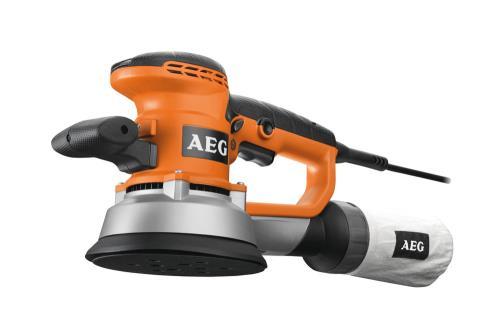 Ponceuse excentrique AEG Ø150mm + 25 abrasifs