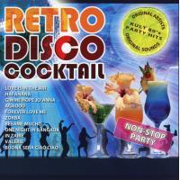 Retro disco cocktail
