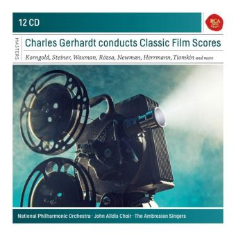 Box Set Charles Gerhardt Conducts Classic Film Scores - 12 CDs