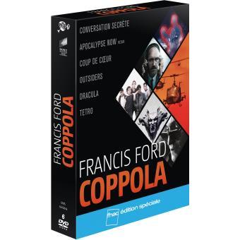 Coffret Francis Ford Coppola 6 films DVD