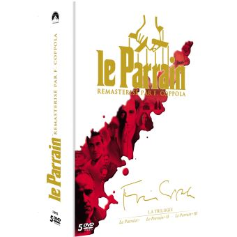 Le  ParrainCoffret Le Parrain La Trilogie DVD