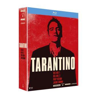 Coffret Quentin Tarantino 4 Films Blu-ray