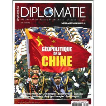 Diplomatie,gd45:geopolitique de la chine