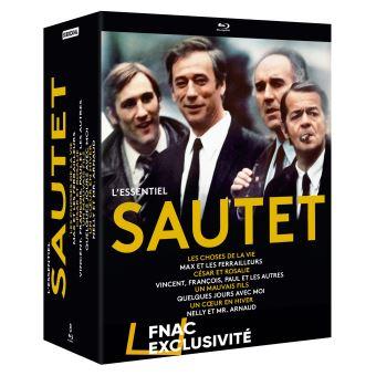 Coffret Claude Sautet L'Essentiel Exclusivité Fnac Blu-ray