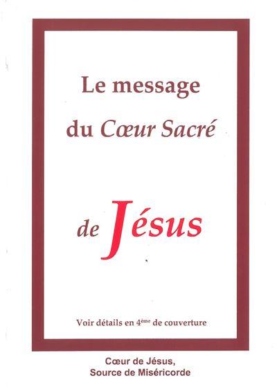 Le message du Cœur Sacré de Jésus