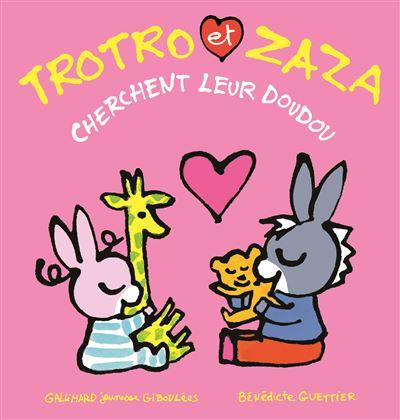 Trotro et Zaza cherchent leur doudou