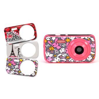 Appareil photo numérique 3MP 3 faces Girly interchangeables Teknofun