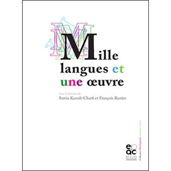 Mille langues et une œuvre